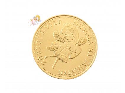 Zúbková víla medaila (2)
