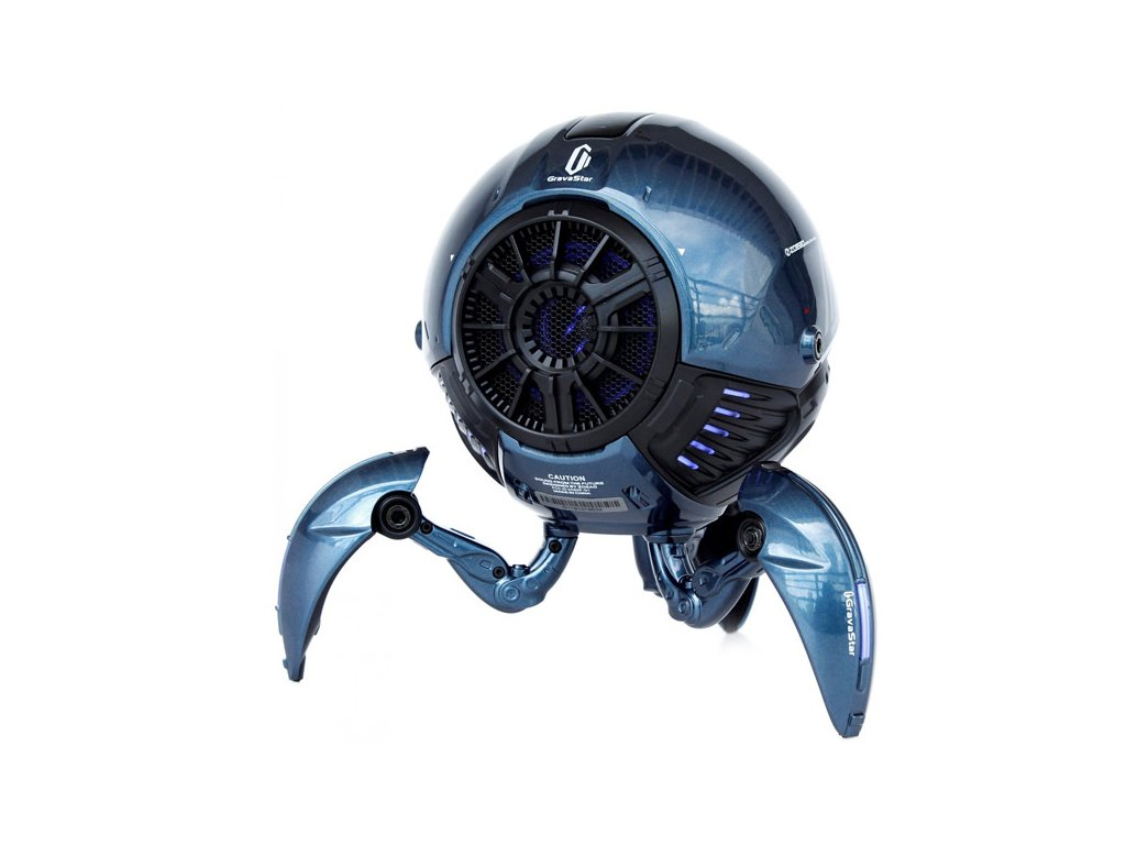 gravastar bluetooth speaker mars sci fi blue gravastar g1 blu buy 422819