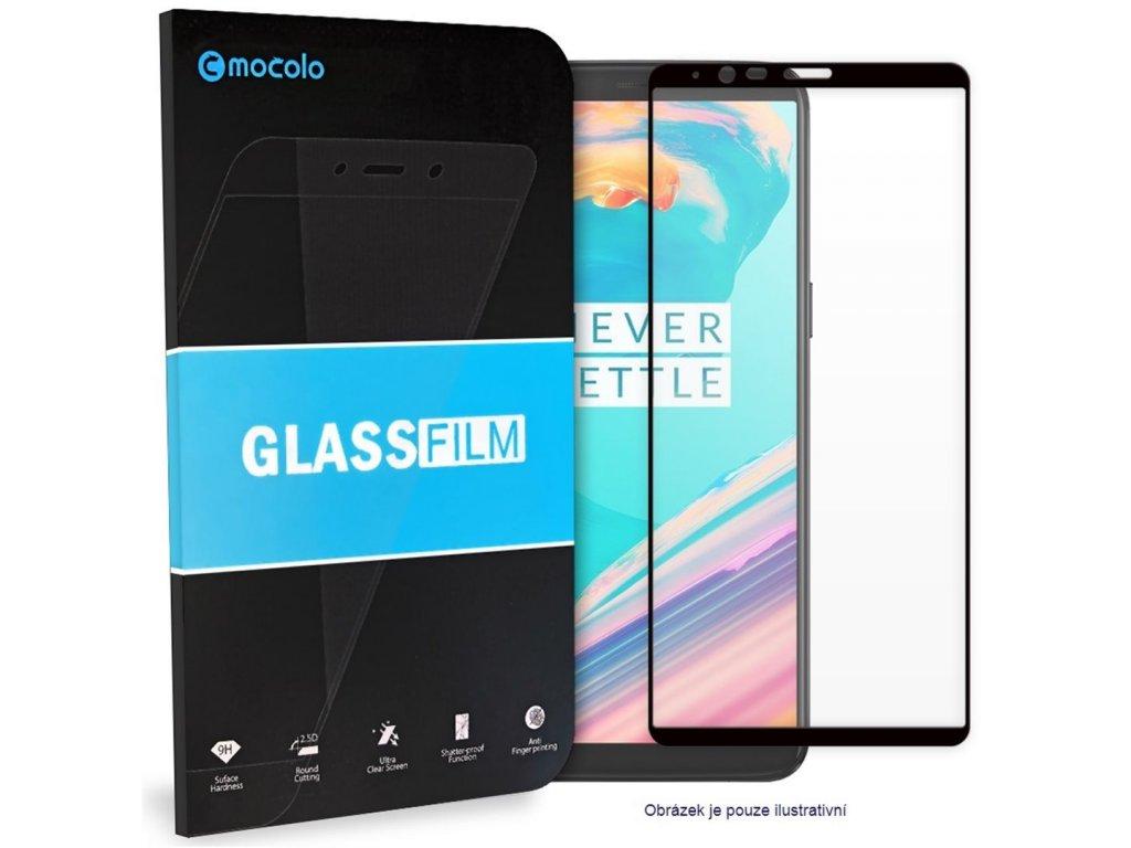 Mocolo 5D Tvrzené Sklo Black Huawei P40 Lite E