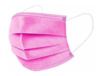 disposable face masks 3 ply with comfortable earloop 25 gsm original imafsf448ghf5jqb