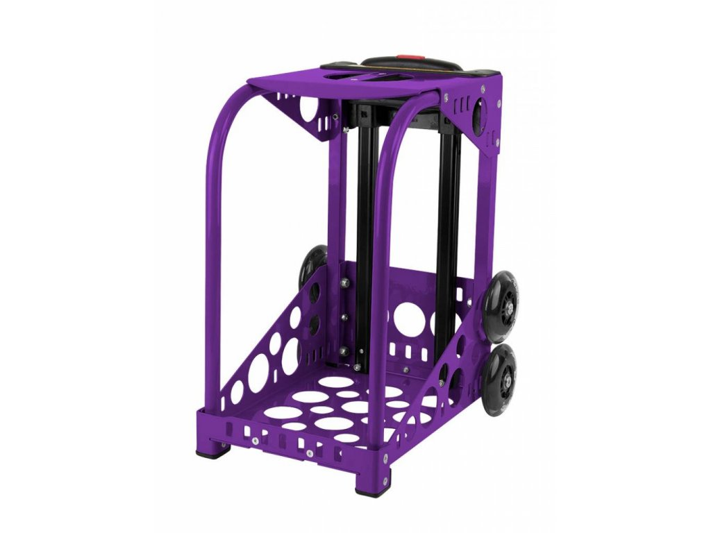 zueca purple frame flashing wheels