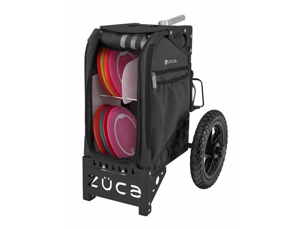 zueca disc golf cart gunmetal black