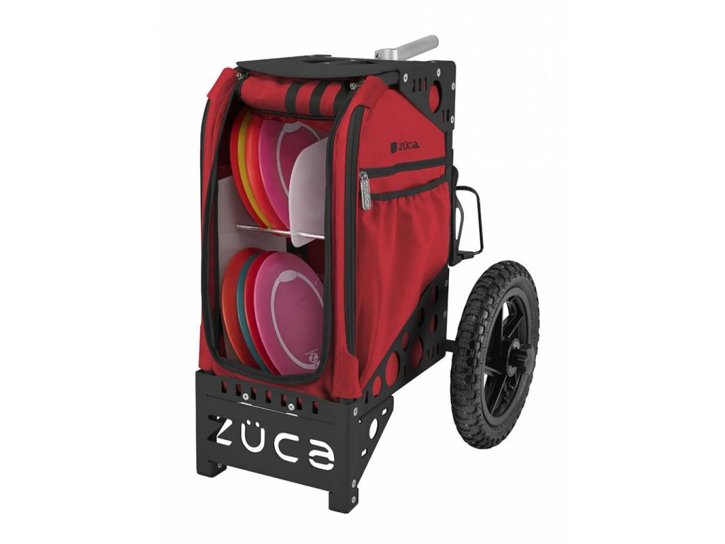 zueca disc golf cart infrared black