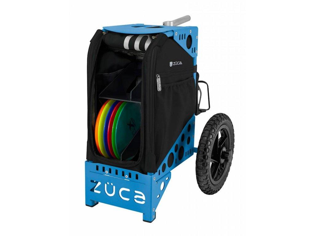 zueca disc golf cart onyx blue