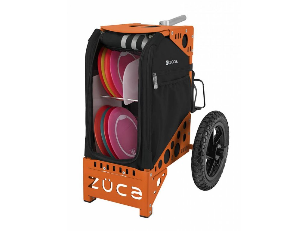 zueca disc golf cart onyx orange