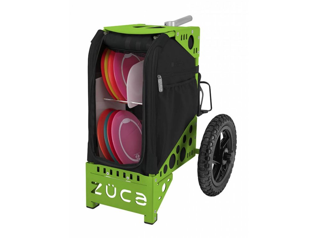 zueca disc golf cart covert green
