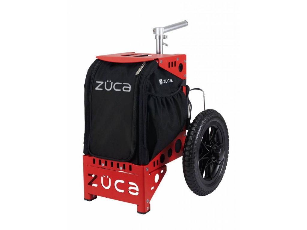 zueca compact disc golf cart red