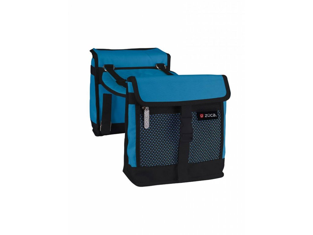 zueca saddle bag set blue