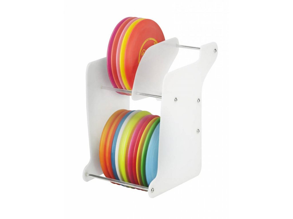 zueca disc golf rack white