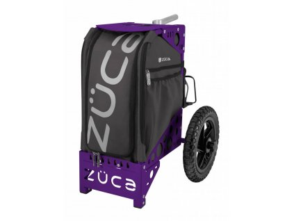 zueca all terrain cart gunmetal purple