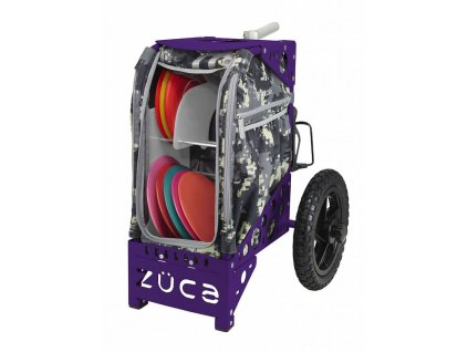 zueca disc golf cart anaconda purple
