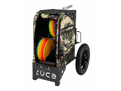 zueca disc golf cart camo black