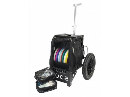 zueca compact disc golf cart black