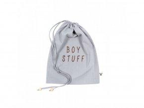pytlíček šedý BOY STUFF
