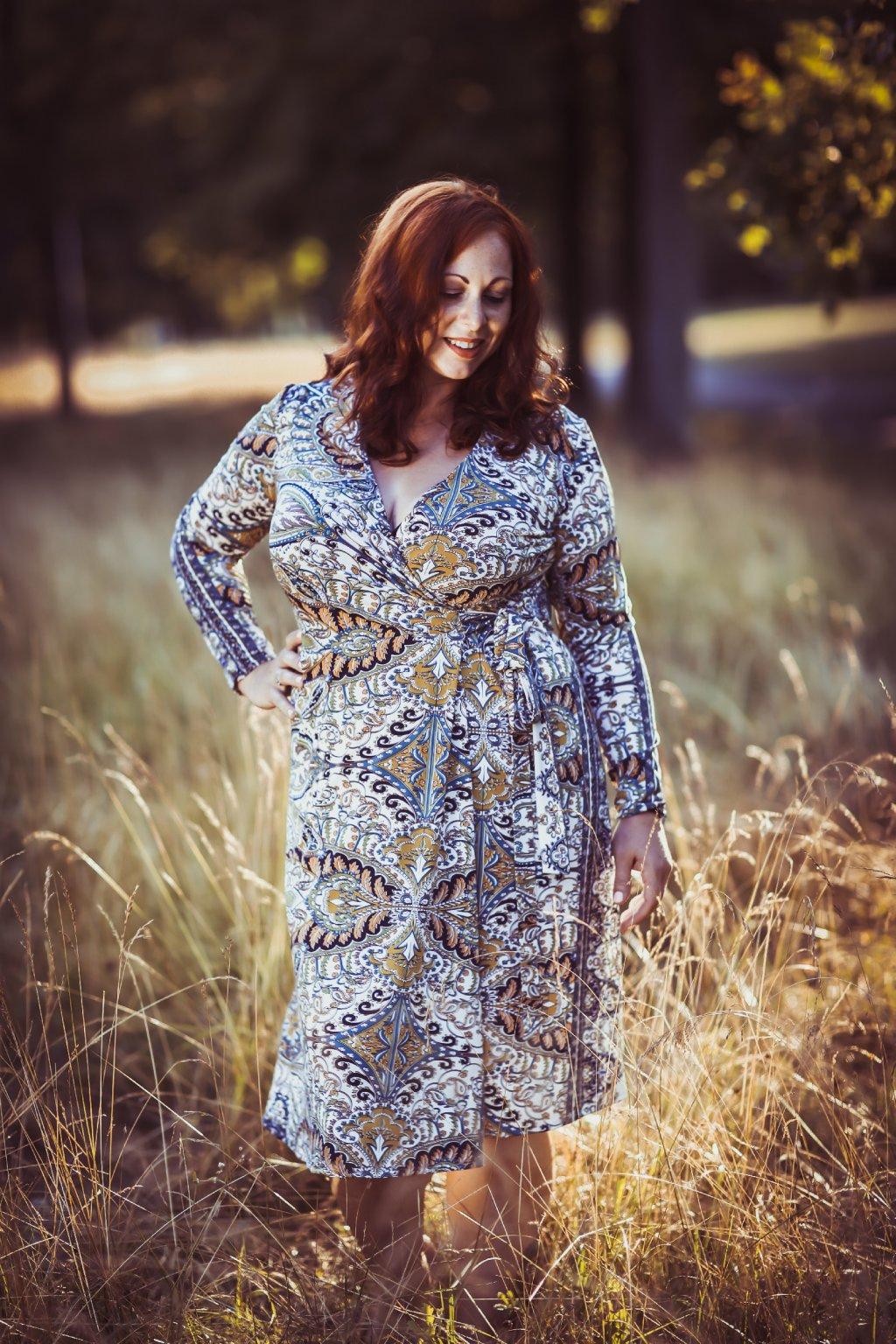Zavinovací šaty Kirsty ZURI 4