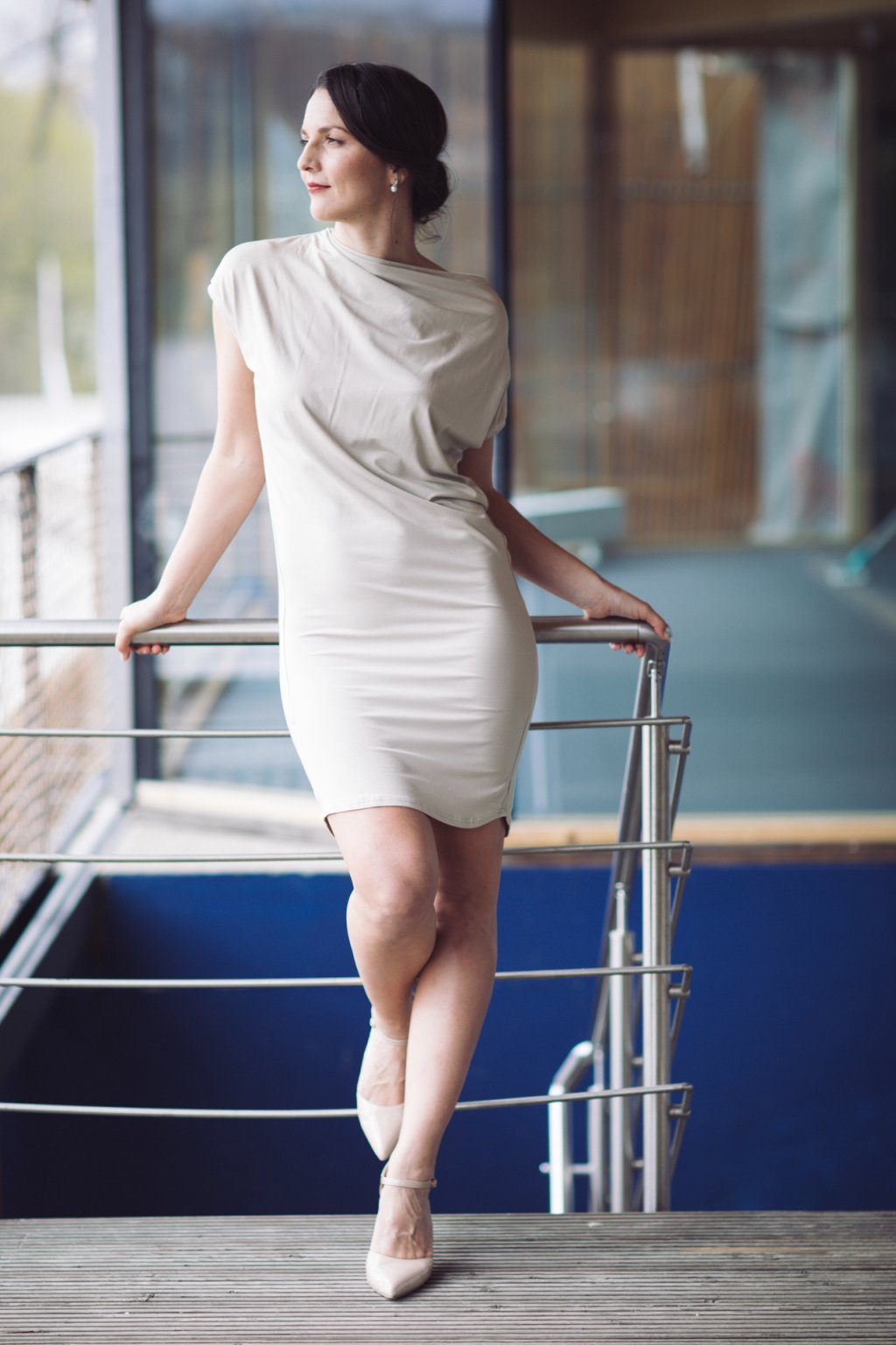 Šaty z bambusu Rosmarina tělové 1