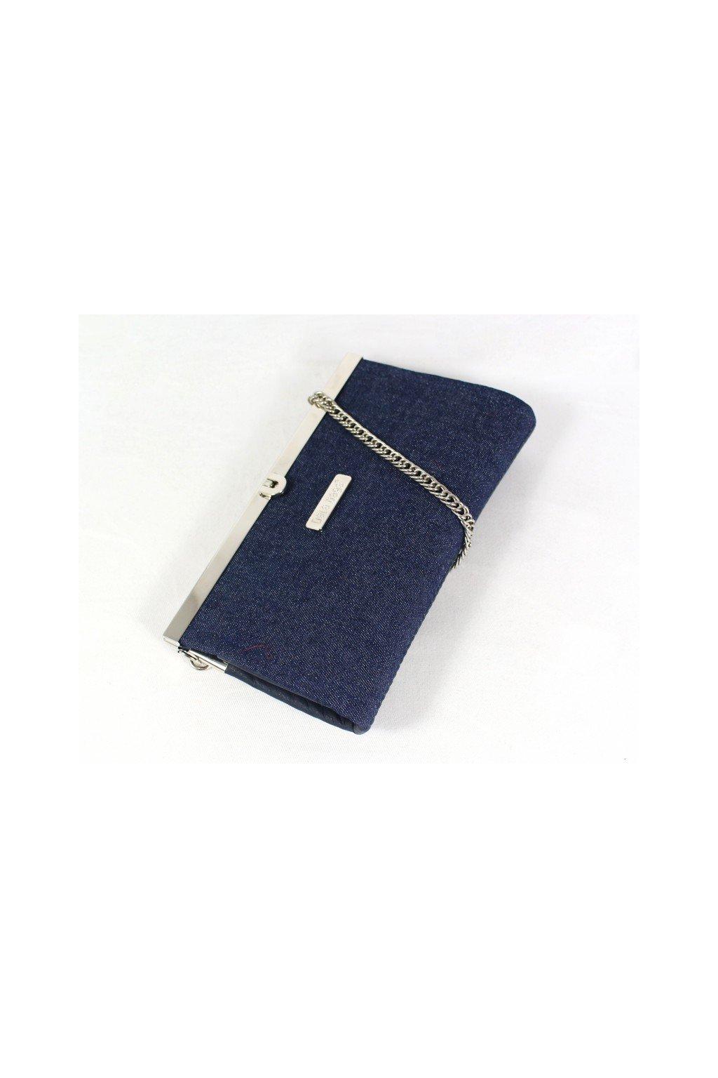Mala kabelka Merci Dara bags modra 1