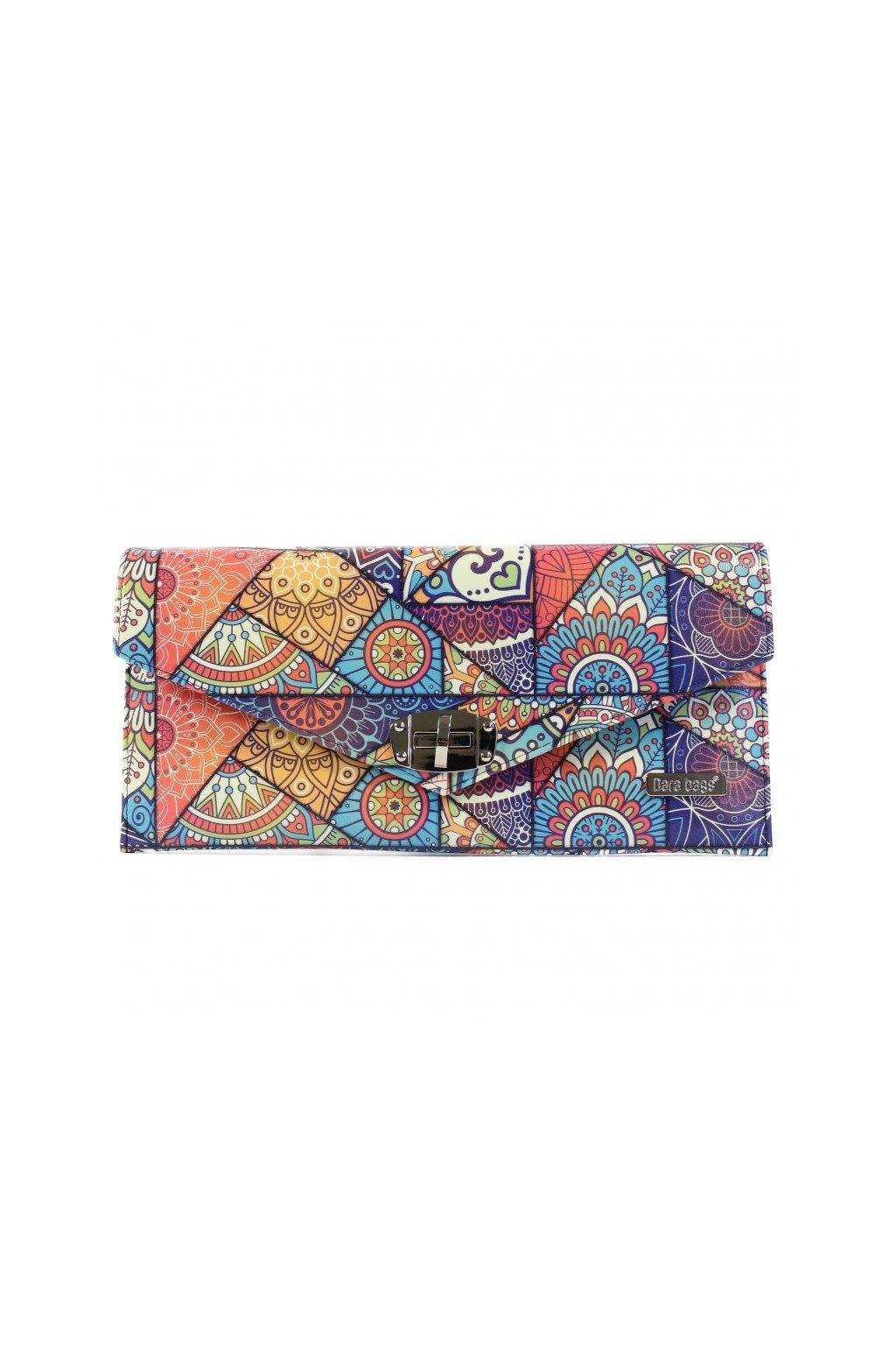 Pestrobarevna kabelka Malibu Classy modra 1