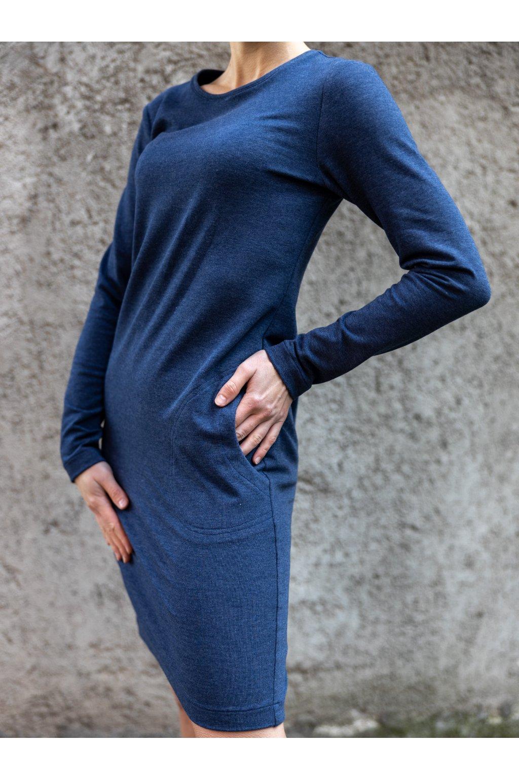 Dámské maxi šaty short jeans 4