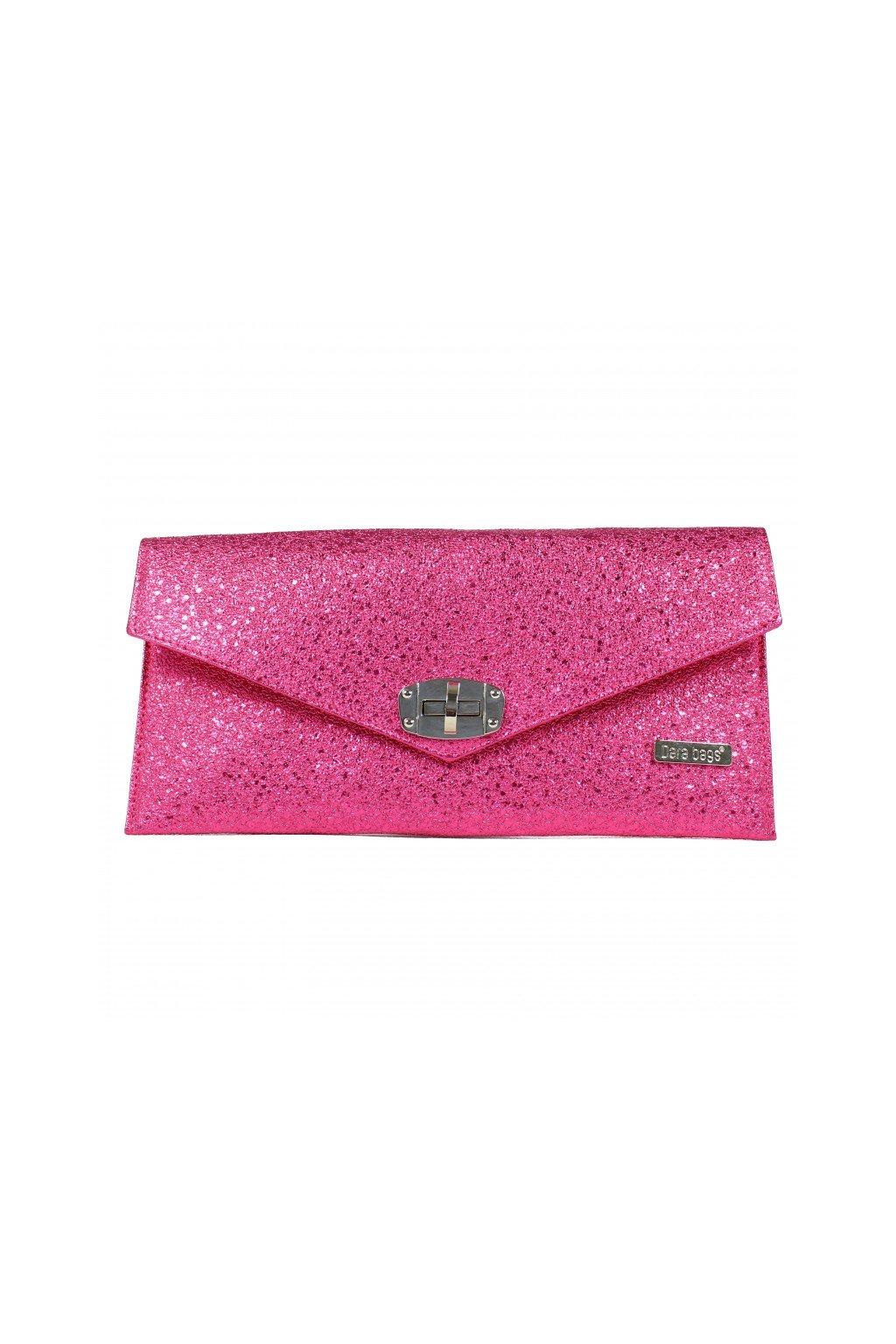 Mala trpytiva kabelka Malibu Classy Dara bags ruzova 1