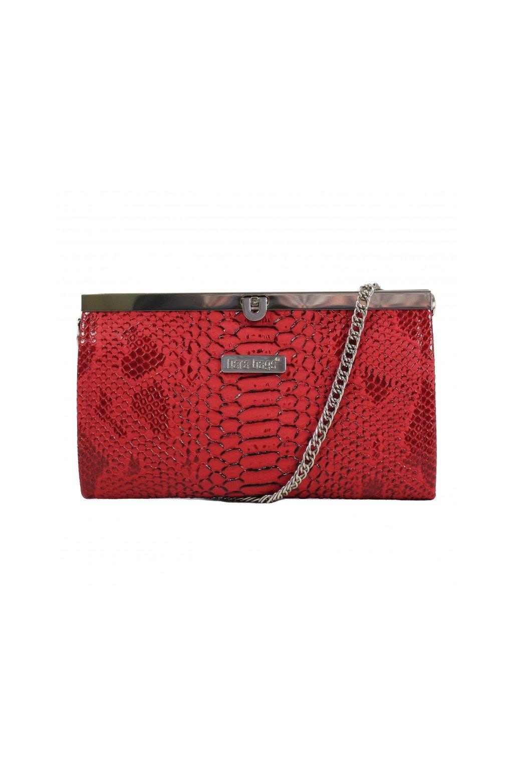 Elegantni mala kabelka Merci Dara bags cervena 1