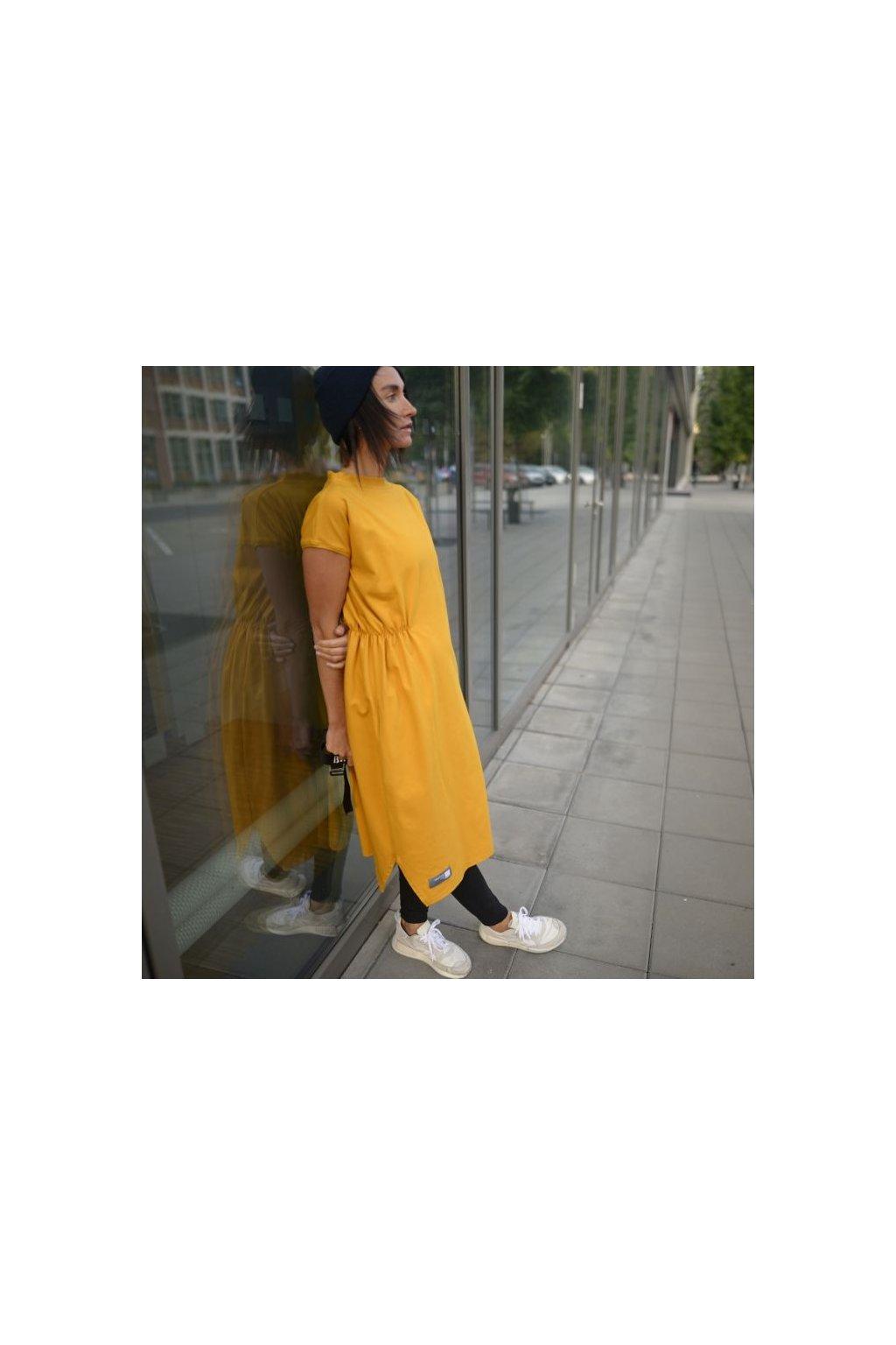 Šaty Mayra okro 1