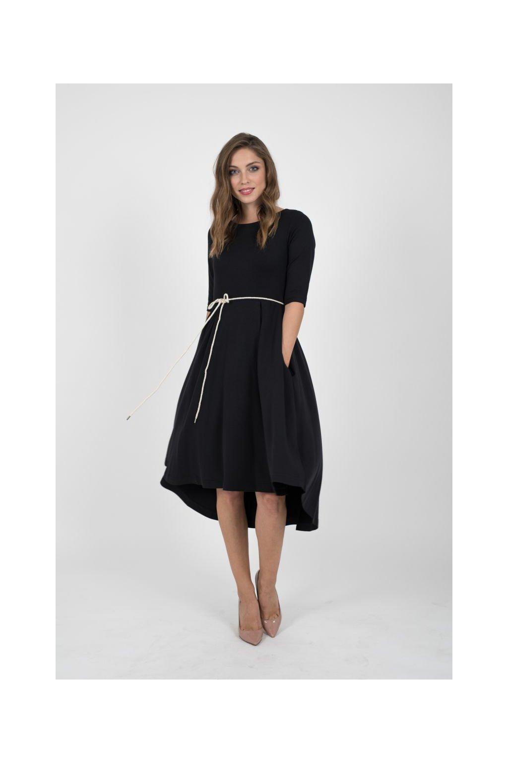 Klasické šaty černé
