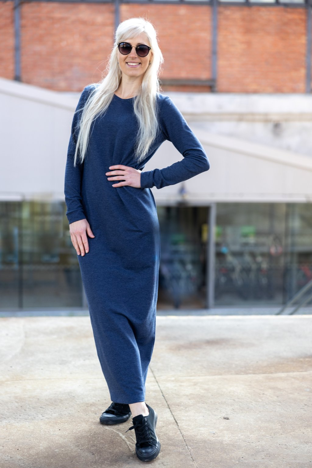 Dámské maxi šaty Jenny jeans 4