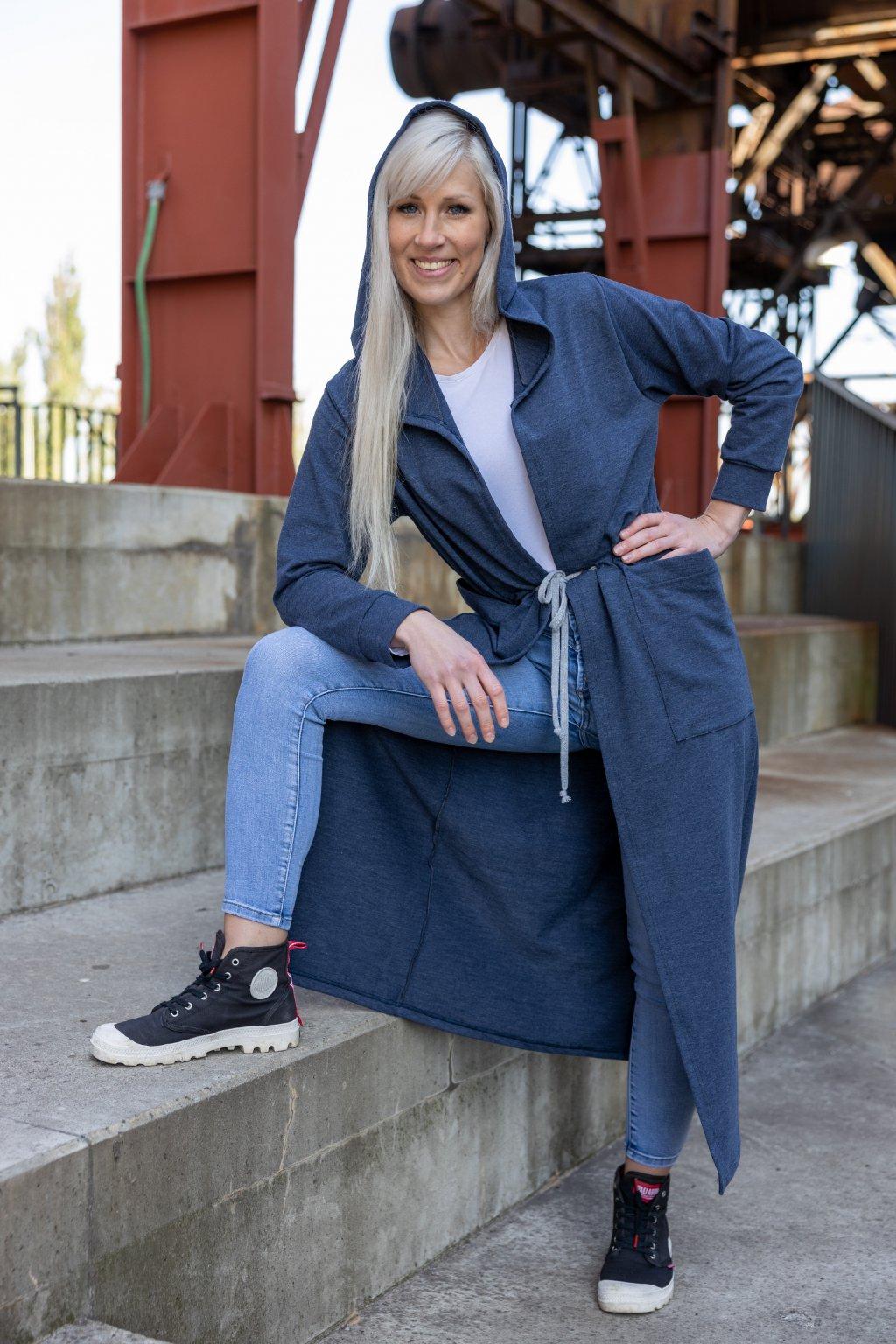 Dámský maxi kardigan Valen jeans 3