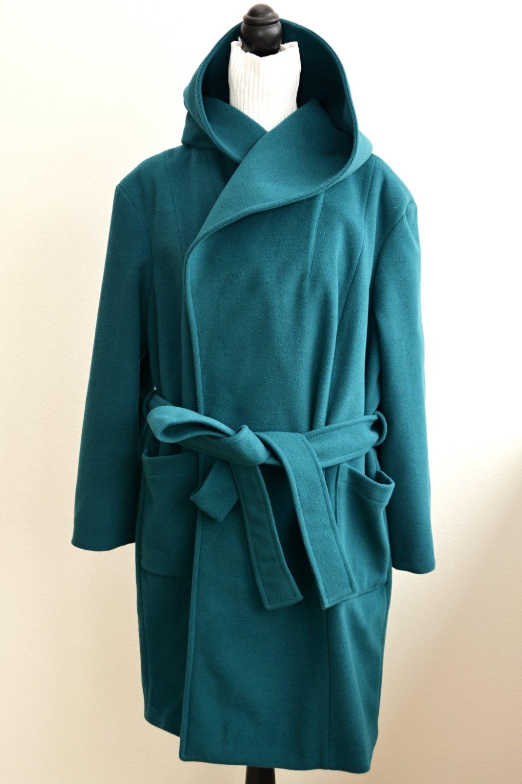 Vlněný kabát Royal s kašmírem 3