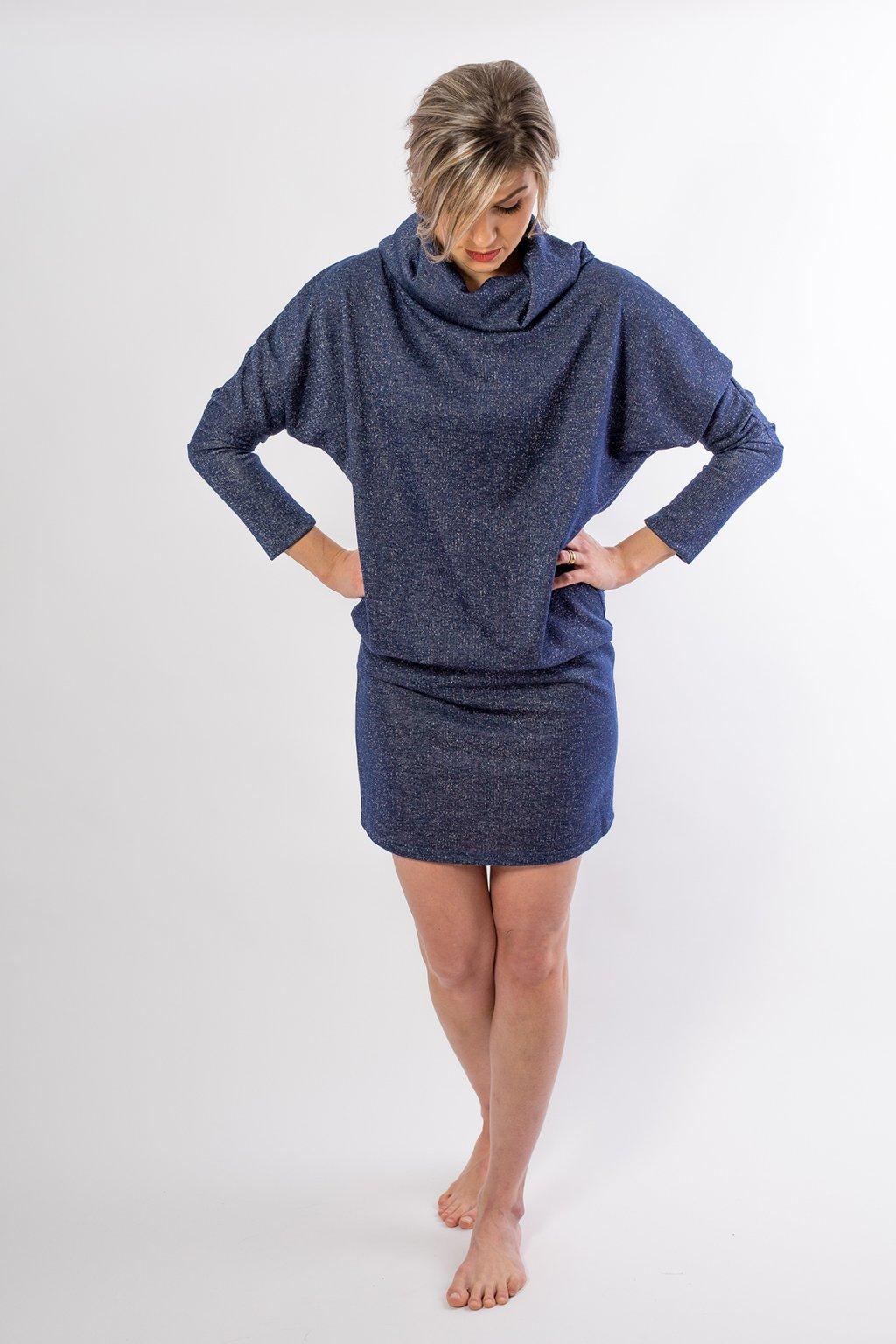 Šaty Erin lurex 1
