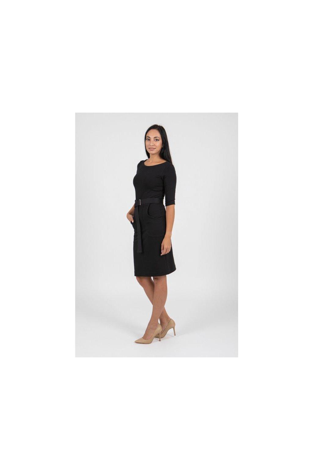 Pouzdrové šaty Serena s opaskem 1
