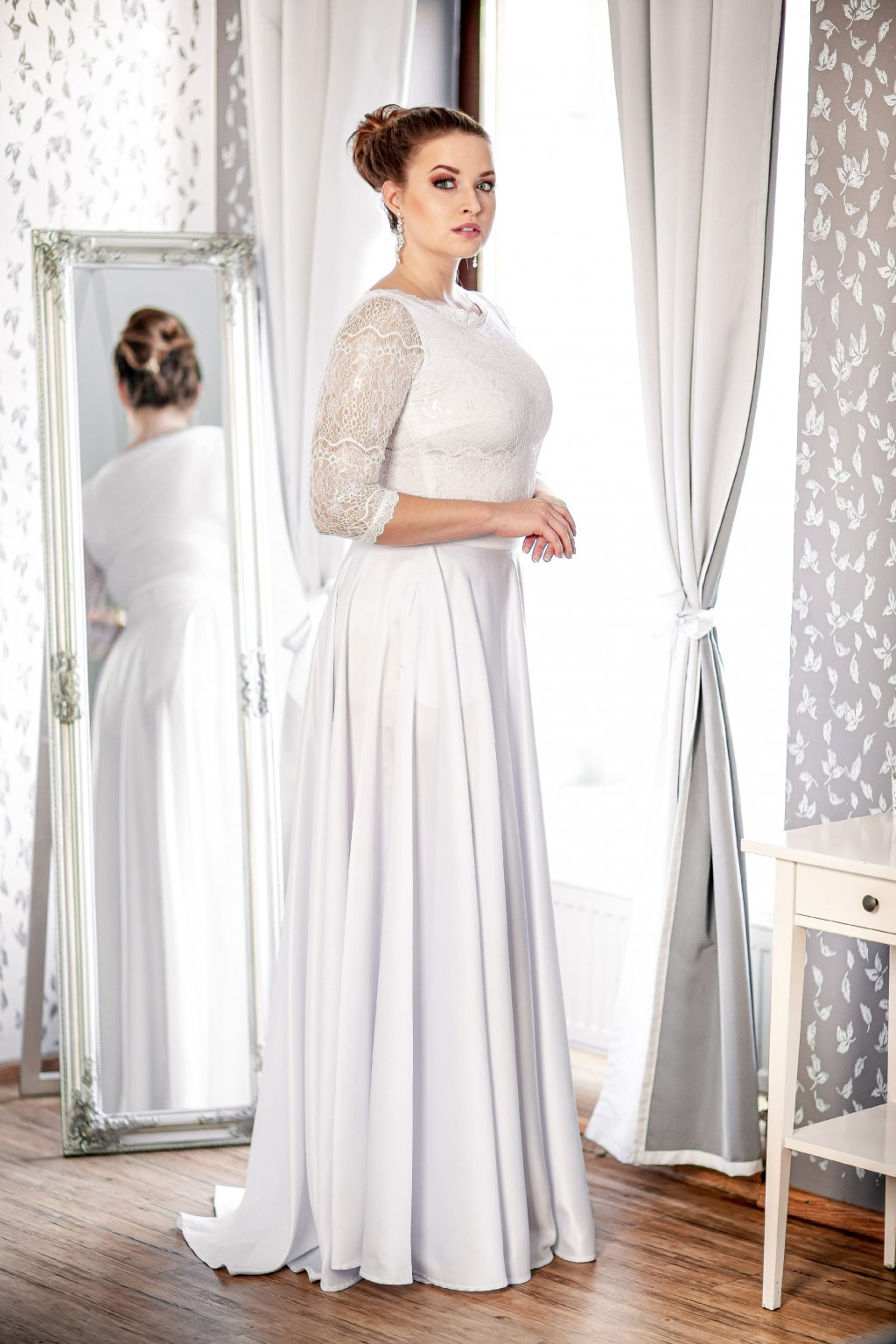 Svatební dlouhá sukně Rosie 1