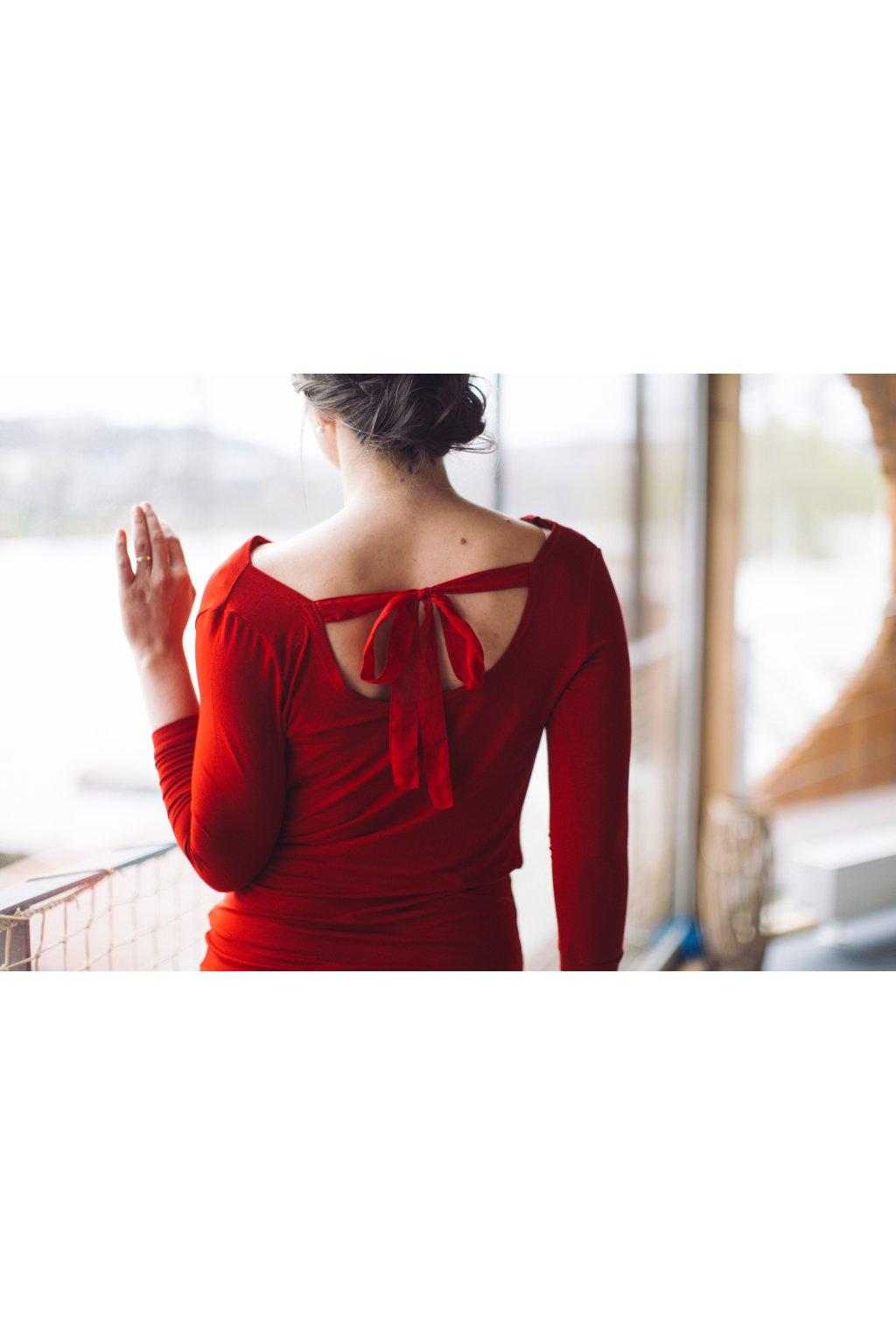 Dámská halenka Melissa červená 2