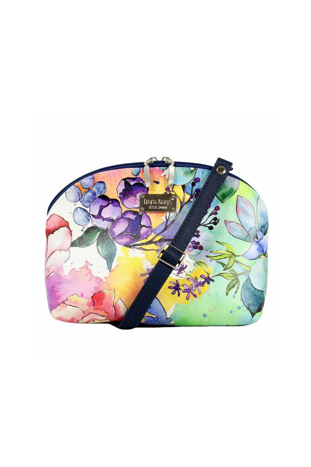Pestrobarevna kabelka Bell Middle Dara bags 1