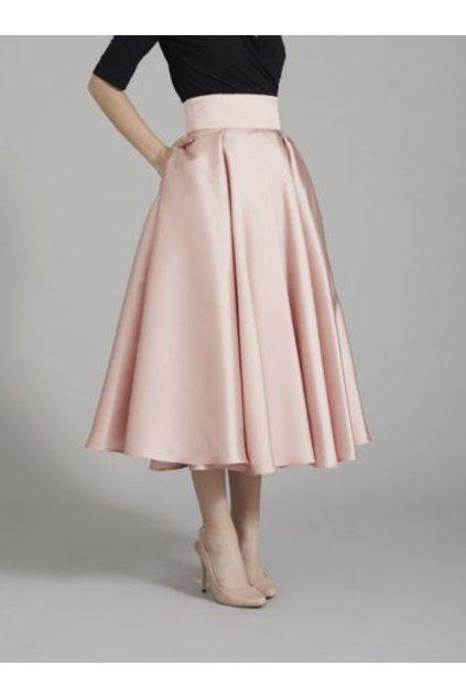 Krátká saténová sukně Rosie