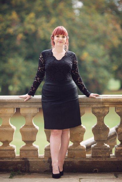 Semišová sukně Luisa