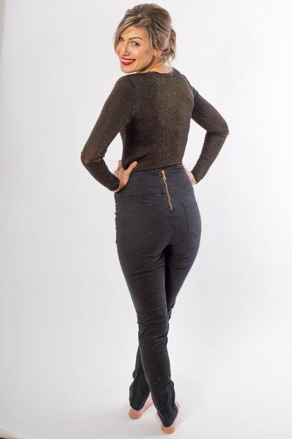 Kalhoty Jenny se zadním zipsem 2
