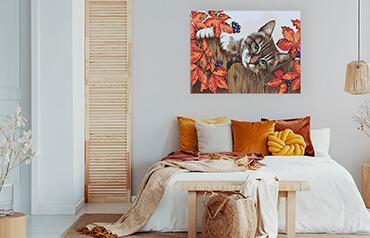 Milujete barevný podzim? Zvěčněte ho malbou