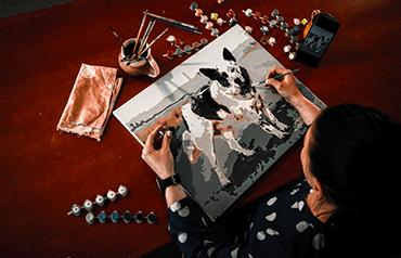 Praktický návod: Malování podle čísel s vlastní předlohou