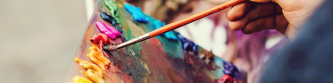 malování obrazu