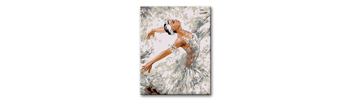 labutí jezero - baletka v záklonu