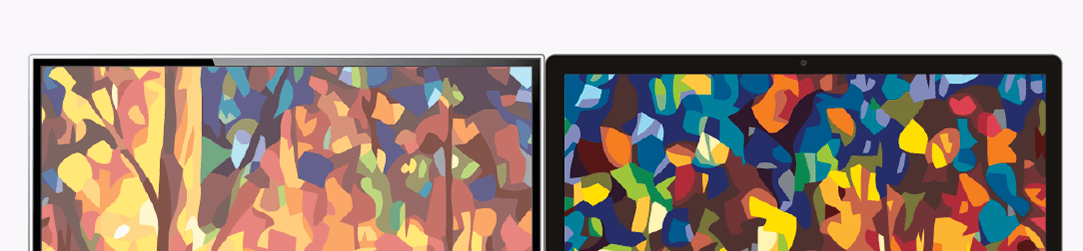Jiné barvy v počítači