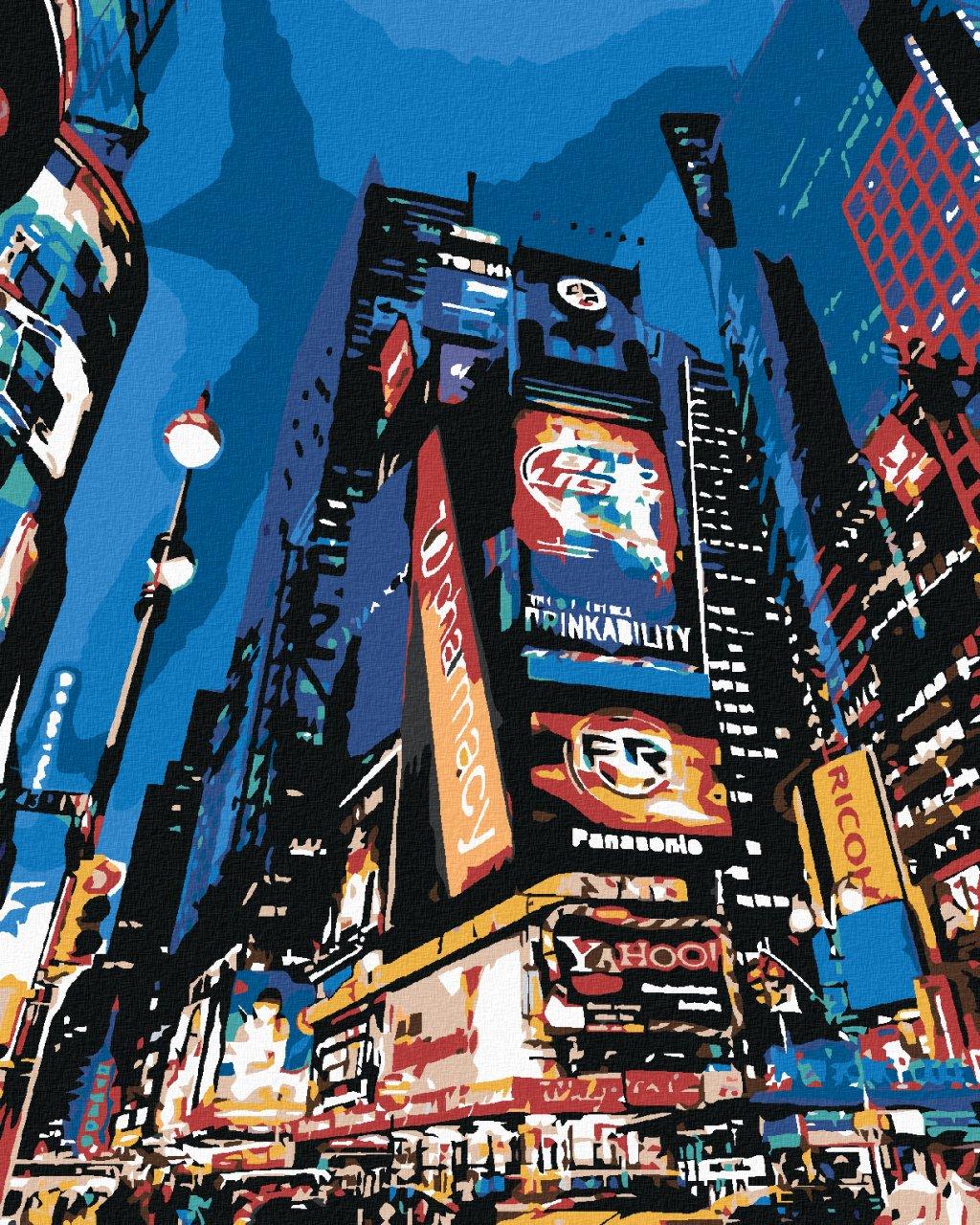 Malování podle čísel - V NEW YORKU