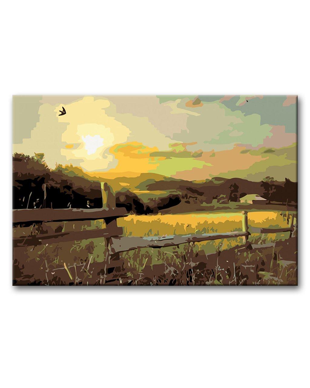 Slunce a pastvina