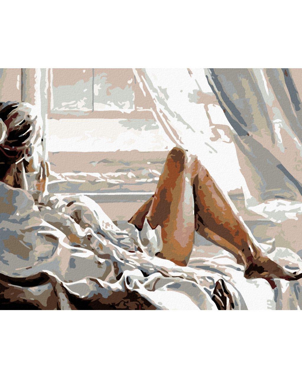 Malování podle čísel - POHLED Z OKNA