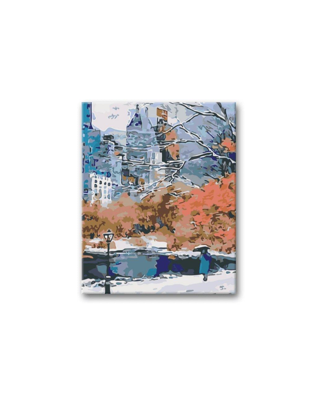 Malování podle čísel - PARK V NEW YORKU