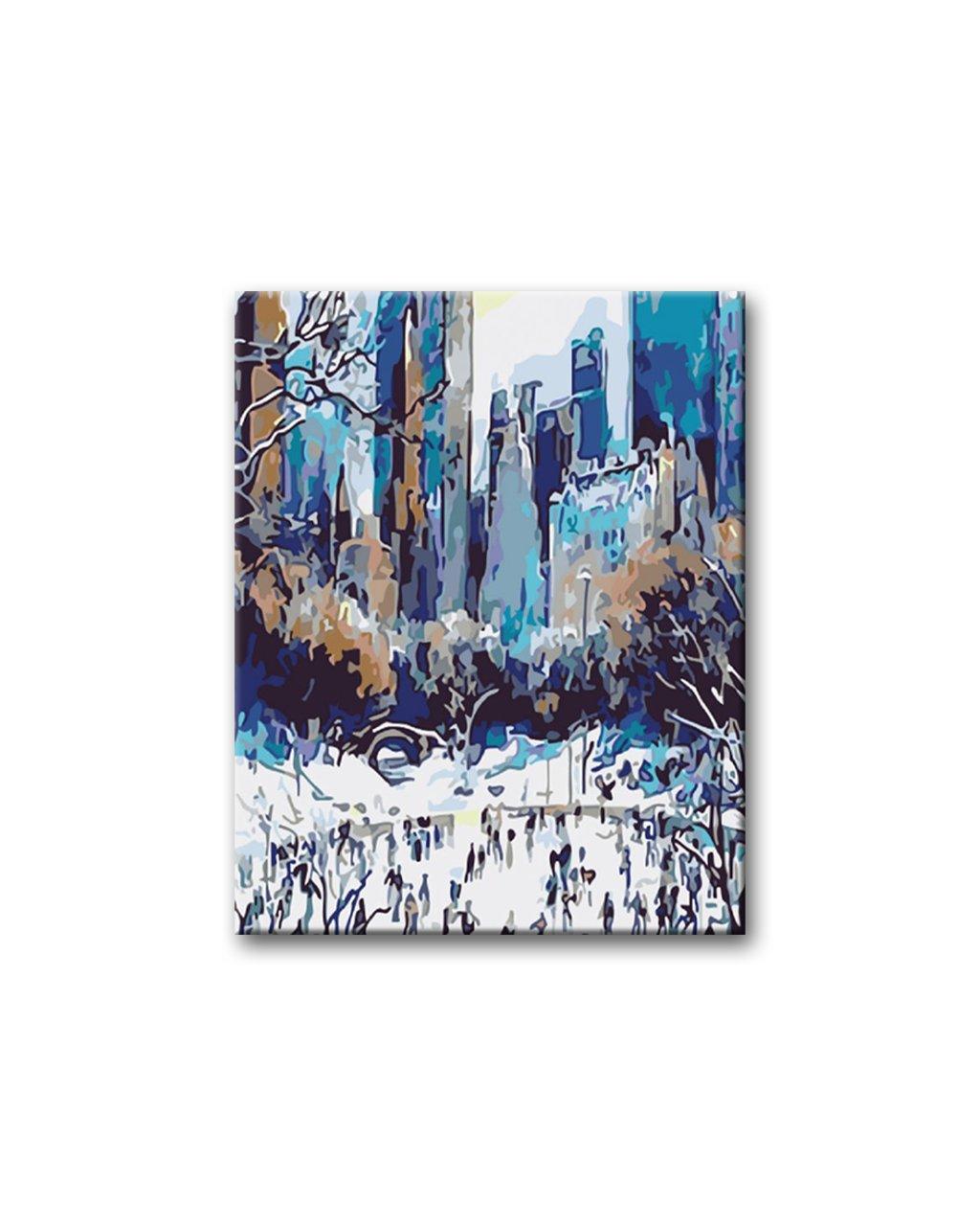 Malování podle čísel - BRUSLENÍ V NEW YORKU