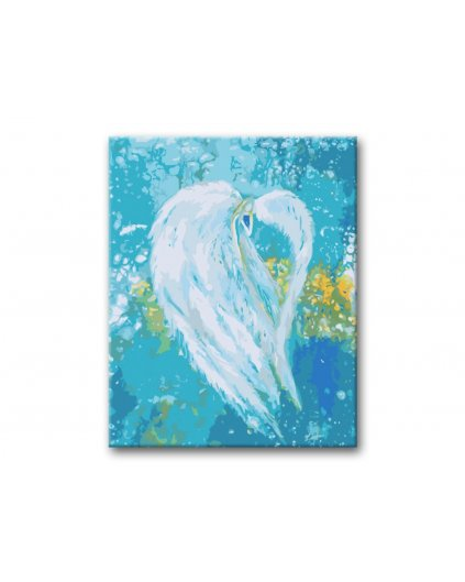 Malování podle čísel -  ANDĚLÉ OD LENKY - FREEDOM ANGEL