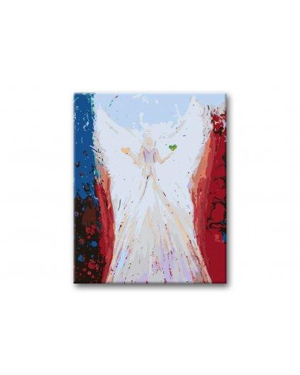 Malování podle čísel - ANDĚLÉ OD LENKY -BALANCE ANGEL